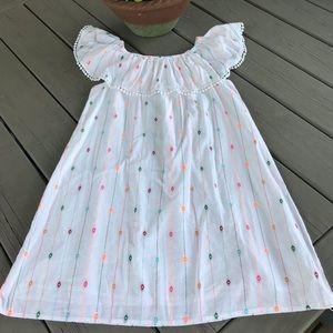 Gap Girls' White Embellished Sundress - New!